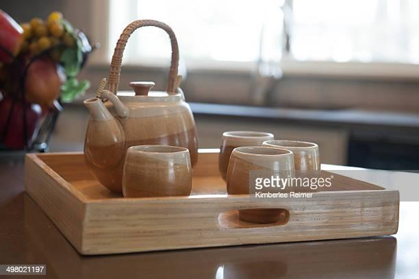 Brown Tea Service