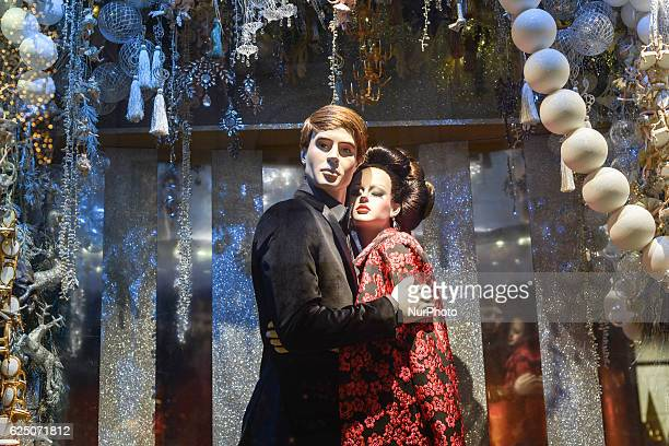 Brown Thomas reveals this years Christmas eight-window display with thousands of miniature figures hand built 000 baubles customised to match Brown...
