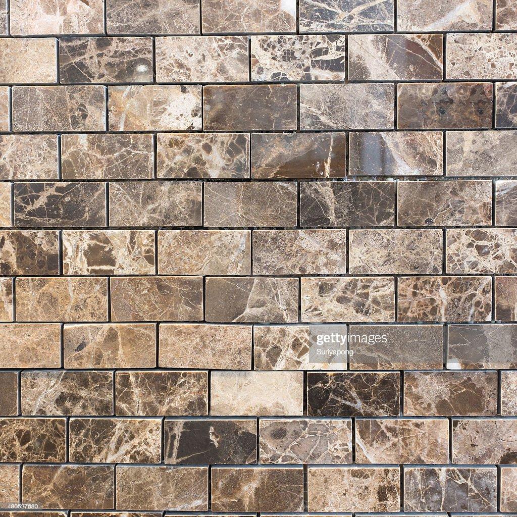 Brown tile texture and backgroud. : Bildbanksbilder