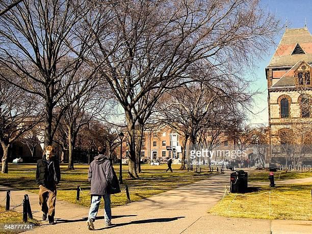 Brown University campus life