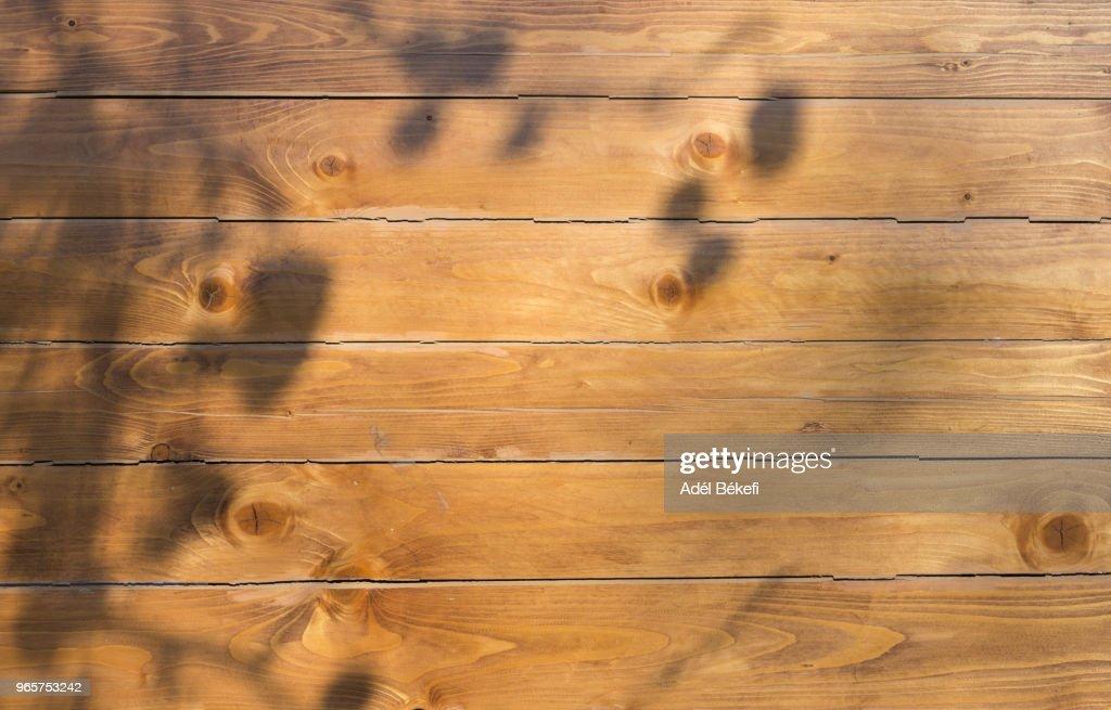 brown wood background : ストックフォト