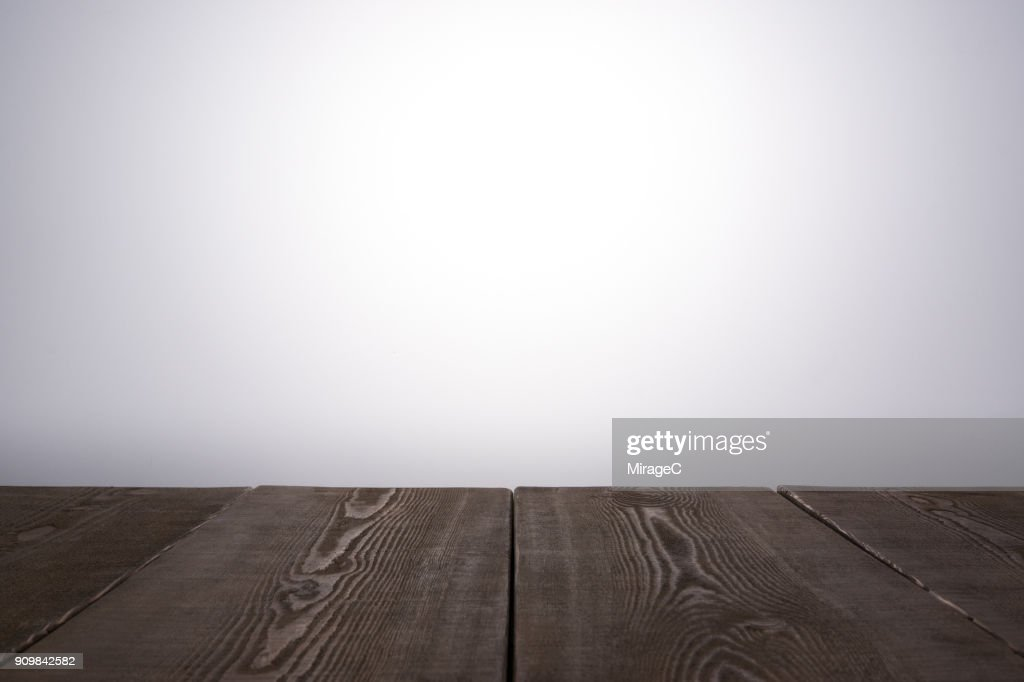 Brown Wood Plank : Stock Photo