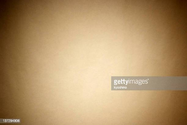 Brown wrapping paper with spotlight