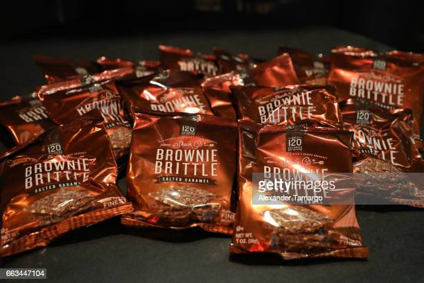 Brownie Brittle on display at Underground Lauderdale Fashion Weekend Brought To You By The Greater Fort Lauderdale Conventions Visitors Bureau And...