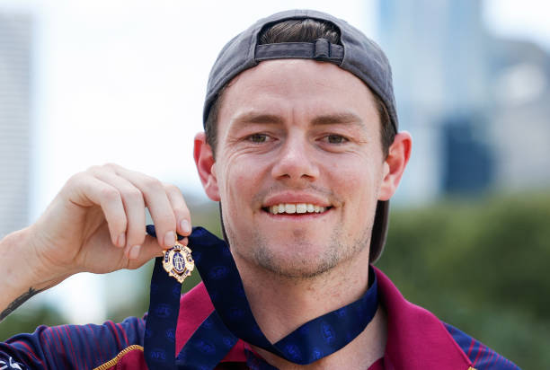 AUS: Lachie Neale 2020 Brownlow Medal Media Opportunity