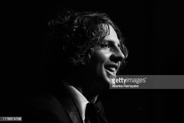 2019 Brownlow winner Nat Fyfe of the Dockers speaks during a press conference during the 2019 Brownlow Medal at Crown Palladium on September 23 2019...