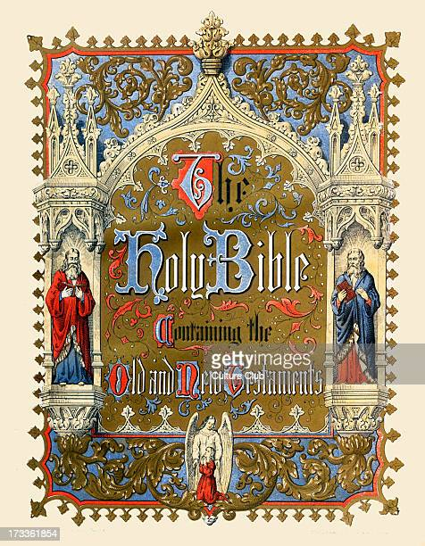 Brown's Holy Bible - frontispiece. Self- interpreting family Bible introducted by Rev. John Brown of Haddington. Old and New Testaments. Published by...