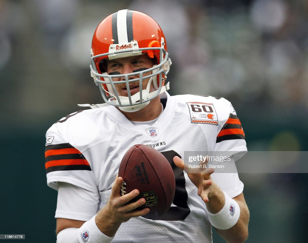 Cleveland Browns vs Oakland Raiders - October 1, 2006 : News Photo