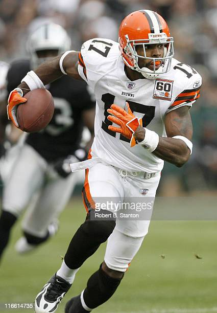 Browns receiver Braylon Edwards had 6 receptions for 75 total yards as the Cleveland Browns defeated the Oakland Raiders by a score of 24 to 21 at...