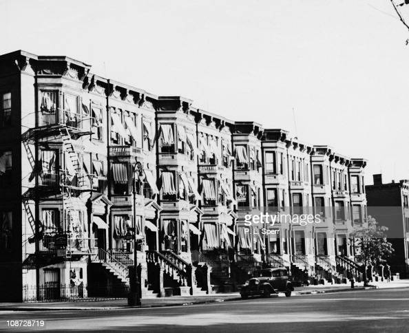 Brownstone Apartments On Madison Avenue At 122nd Street