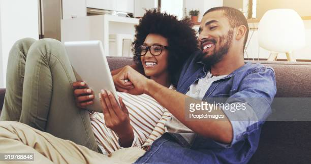 browsing the internet together - choosing stock pictures, royalty-free photos & images