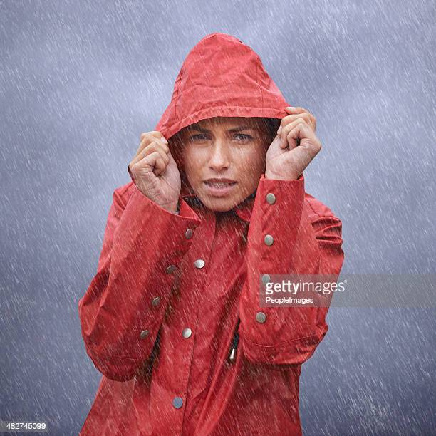 Brrrr....it's freezing out here...I wish I had an umbrella!