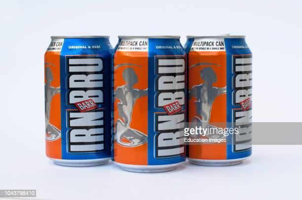 Bru, six pack of beer, Scotland.