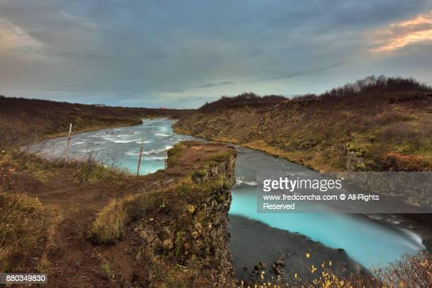 Bruarfoss Riverl in Iceland