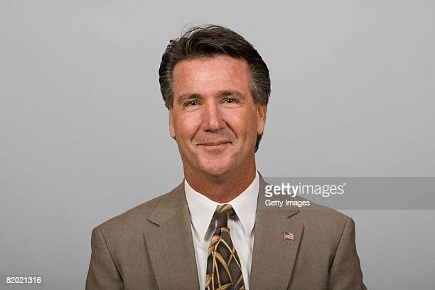 Bruce Allen of the Tampa Bay Buccaneers poses for his 2008 NFL headshot at photo day in Tampa Florida