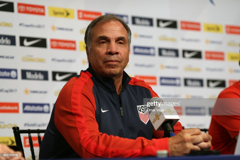 United States Gold Cup Press Conference : News Photo