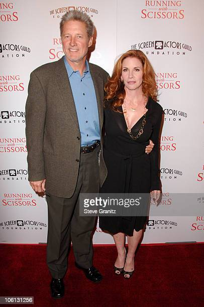 Bruce Boxleitner and Melissa Gilbert during Running with Scissors World Premiere Arrivals at The Academy in Beverly Hills California United States