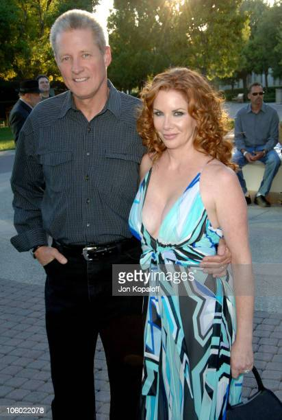 Bruce Boxleitner and wife Mellissa Gilbert during Season Four Premiere Screening Of Nip/Tuck Arrivals at Paramount Studios in Los Angeles California...