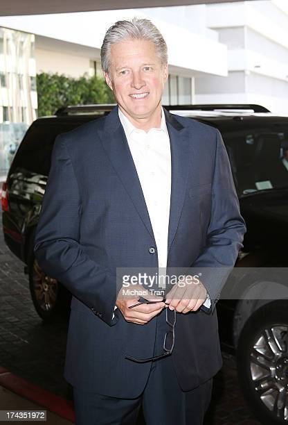 Bruce Boxleitner arrives at the Television Critic Association's Summer press tour Hallmark Channel Hallmark Movie Channel event held at The Beverly...