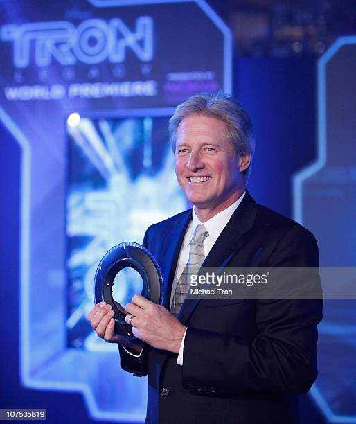 Bruce Boxleitner arrives at the world premiere of TRON Legacy held at the El Capitan Theatre on December 11 2010 in Hollywood California