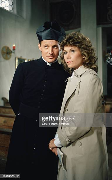 Bruce Boxleitner as Lee Stetson and Kate Jackson as Mrs Amanda King in Scarecrow and Mrs King Image dated 1984