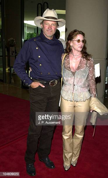Bruce Boxleitner Melissa Gilbert during 19th Annual Golden Boot Awards at Beverly Hills in Beverly Hills California United States