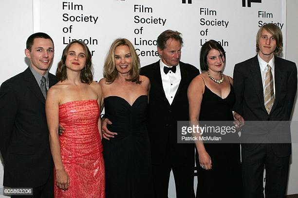 Bruce Bryan Shura Baryshnikov Jessica Lange Sam Shepard Hannah Shepard and Walker Shepard attend Jessica Lange to Be Honored By the Film Society of...