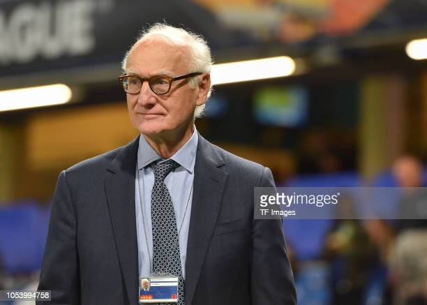 Bruce Buck of Chelsea looks on prior the UEFA Europa League Group L match between Chelsea and Vidi FC at Stamford Bridge on October 4 2018 in London...