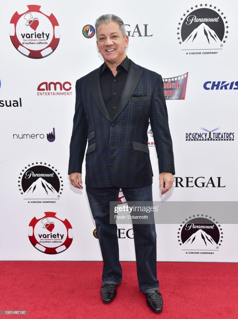 Bruce Buffer attends the 8th Annual Variety Children's Charity of SoCal Texas Hold 'Em Poker Tournament at Paramount Studios on July 18, 2018 in Los Angeles, California.
