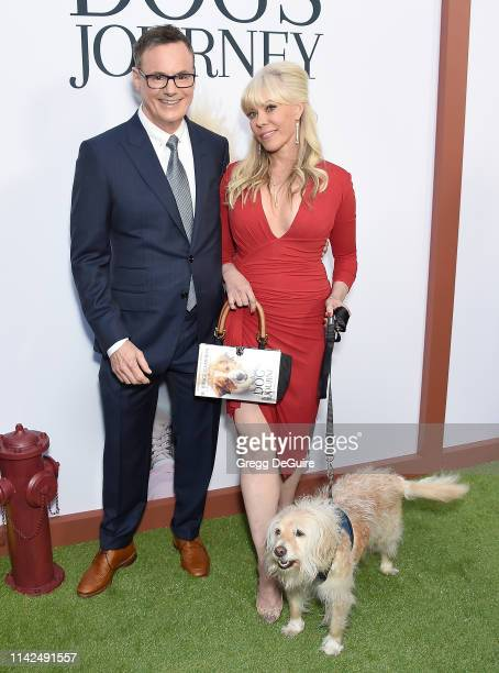 W Bruce Cameron and Cathryn Michon arrive at the Premiere Of Universal Pictures' A Dog's Journey at ArcLight Hollywood on May 9 2019 in Hollywood...