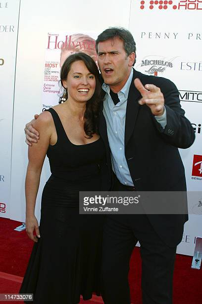 Bruce Campbell and Ida Gearon 6th Annual Young Hollywood Awards Hollywood CA