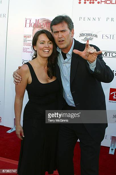 Bruce Campbell and Ida Gearon