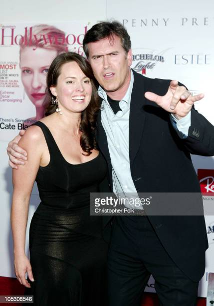 Bruce Campbell and wife Ida during 2004 Movieline Young Hollywood Awards - Red Carpet Sponsored by Hollywood Life at Avalon Hollywood in Hollywood,...