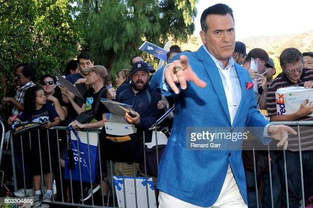 Bruce Campbell attends the 43rd Annual Saturn Awards at The Castaway on June 28, 2017 in Burbank, California.