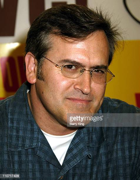 Bruce Campbell during Bruce Campbell In-Store Appearance and Autograph Signing at Tower Records in West Hollywood - September 27, 2005 at Tower...