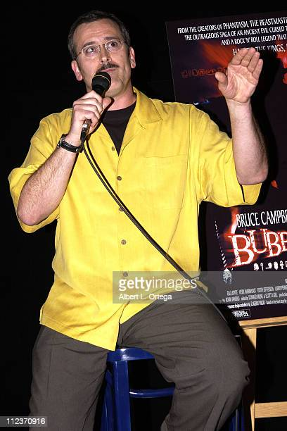 "Bruce Campbell during ""Bubba Ho-tep"" Screening and Q&A Presented By The American Cinematheque at The Egyptian Theater in Hollywood, California,..."