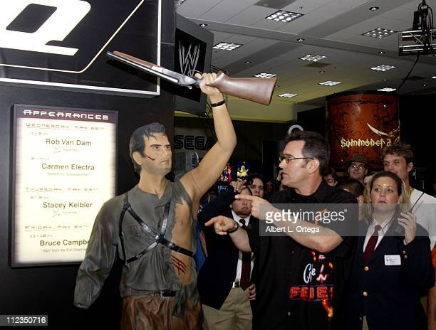 "Bruce Campbell of ""Evil Dead"". Gamers and designers reveled in the final day of E3"