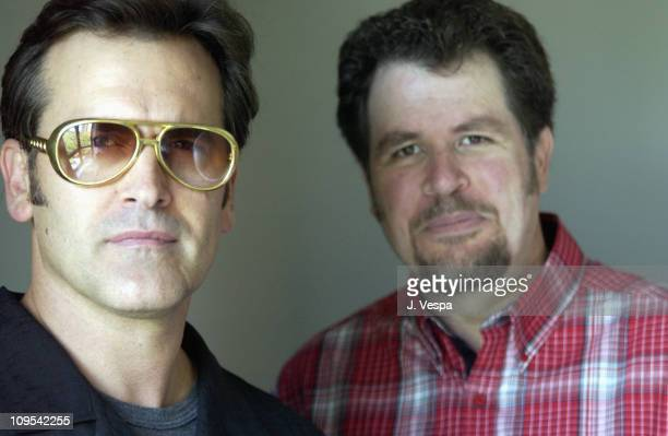 Bruce Campbell & screenwriter/director Don Coscarelli