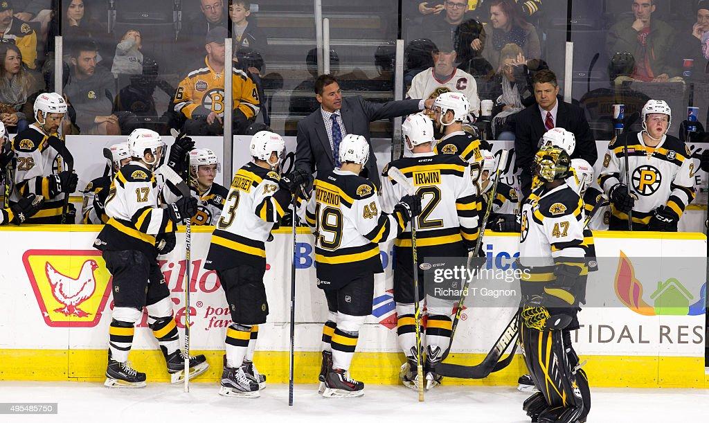 Springfield Falcons v Providence Bruins : News Photo