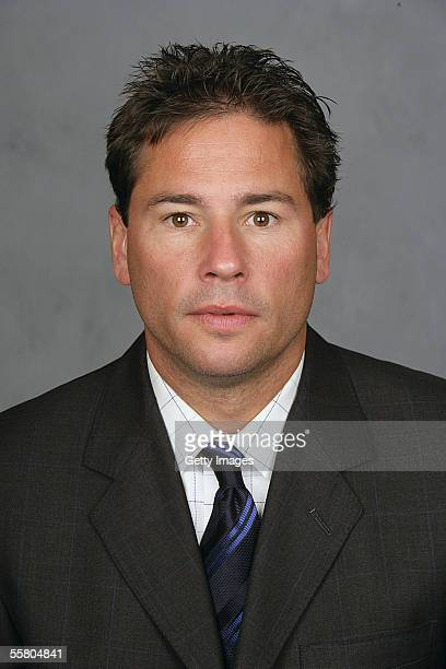 Bruce Cassidy of the Chicago Blackhawks poses for a portrait at United Center on September 13 2005 in ChicagoIllinois
