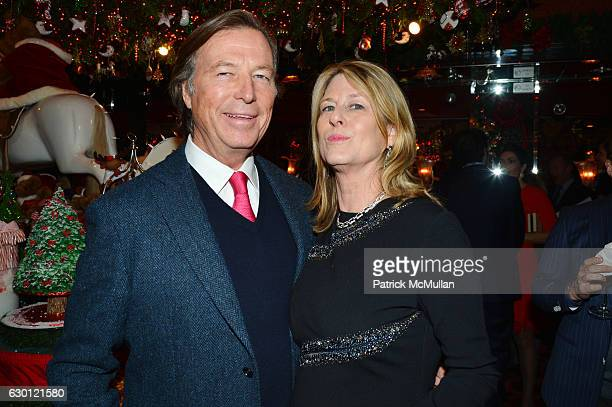 Bruce Colley and Anne Colley attend George Farias Anne and Jay McInerney Host A Christmas Cheer Holiday Party 2016 at The Doubles Club on December 15...