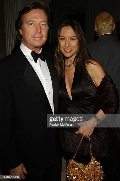 Bruce Colley and Berefka de Sequera attend Museum of the City of New York Director's Council 20th Annual Winter Ball arrivals and cocktails at Museum...