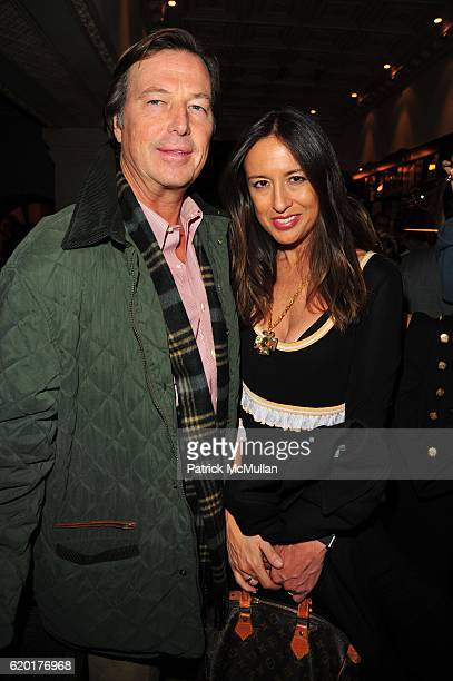 Bruce Colley and Teresa Colley attend QUEST MAGAZINE and BARCLAY BUTERA celebrate publication of BARCLAY BUTERA LIVING IN STYLE by ASSOULINE at...