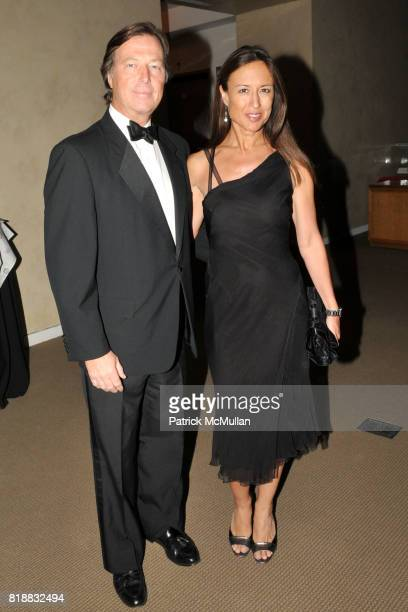 Bruce Colley and Teresa Colley attend SHALL WE DANCE An Evening Honoring ALBERT HADLEY to Benefit LENOX HILL NEIGHBORHOOD HOUSE at Sotheby's on April...