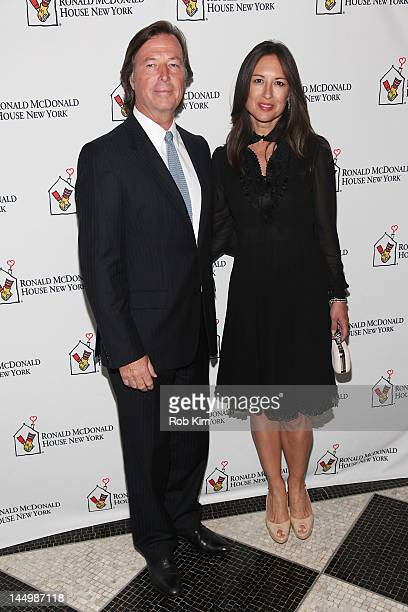 Bruce Colley and Teresa De Sequera attend the Ronald McDonald House 20th Gala at The Waldorf=Astoria on May 21 2012 in New York City