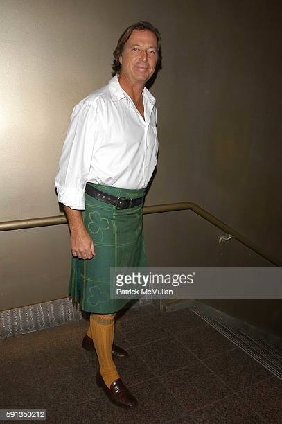 Bruce Colley attends Third Annual Dressed To Kilt at Copacabana on April 6 2005 in New York City