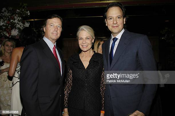 Bruce Colley Frances Hayward and George Farias attend Anne Hearst Jay McInerney Host An Engagement Party For GILLIAN HEARSTSHAW and CHRISTIAN SIMONDS...