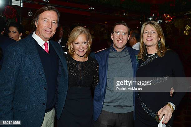 Bruce Colley Karen Klopp Dan Stevenson and Anne Colley attend George Farias Anne and Jay McInerney Host A Christmas Cheer Holiday Party 2016 at The...