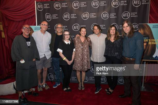 Bruce Curtis Shane Kelly Vince Palmo Holly Gent Ginger Sledge Richard Linklater Sandra Adair and Graham Reynolds attend the Austin Film Society...