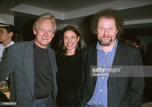Bruce Davison Mimi Rogers Mike Figgis during Holy Smoke Premiere After Party at L'ermitage Hotel in Beverly Hills California United States